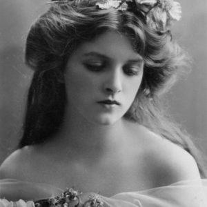 Фотографии в стиле 1900-х годов эпохи короля Эдуарда. Gladys Cooper (Глэдис Купер, 1888 - 1971)