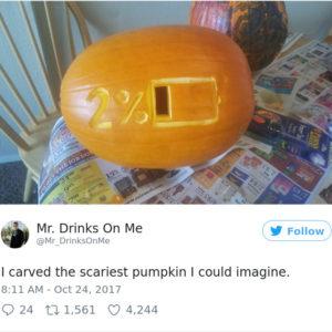 Резьба по тыкве на Хеллоуин