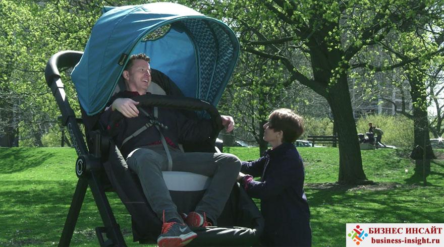 Гигантские детские коляски для взрослых