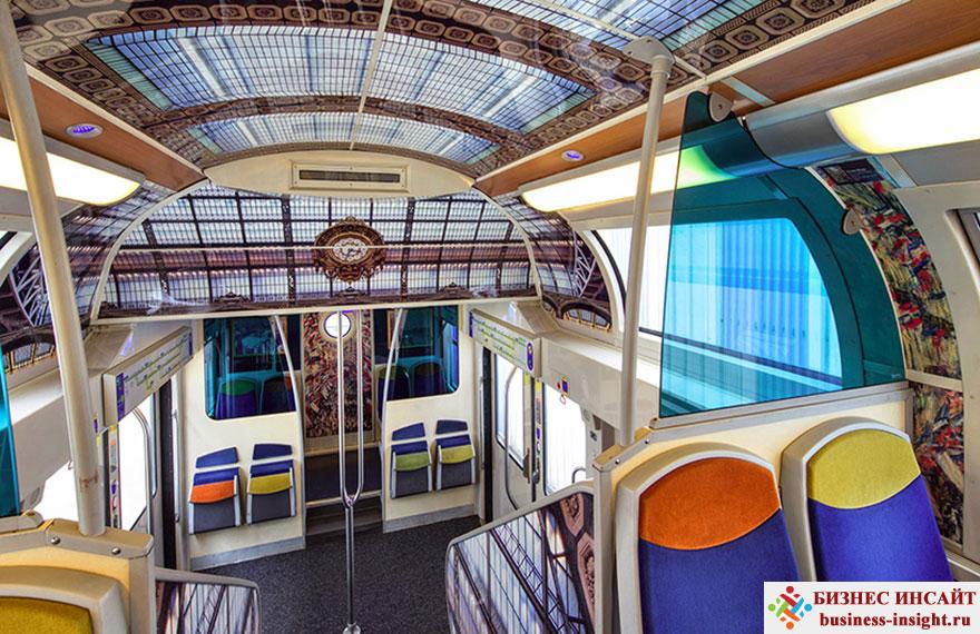Художественный музей в транспорте