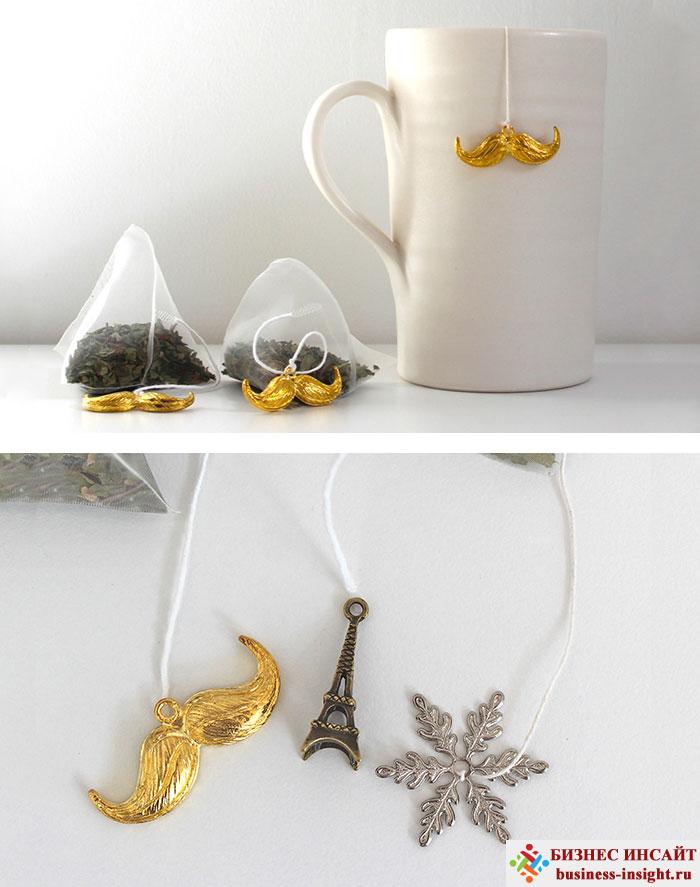 Креативные чайные пакетики Интересные идеи
