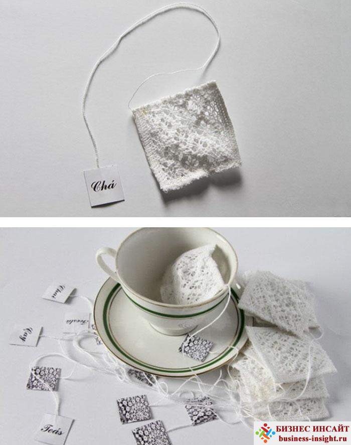 Креативные чайные пакетики Прекрасный Хендмейд