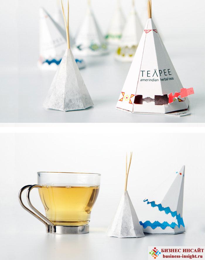 Креативные чайные пакетики Северная Америка
