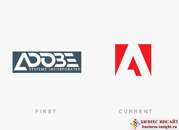 Логотип Adobe Systems