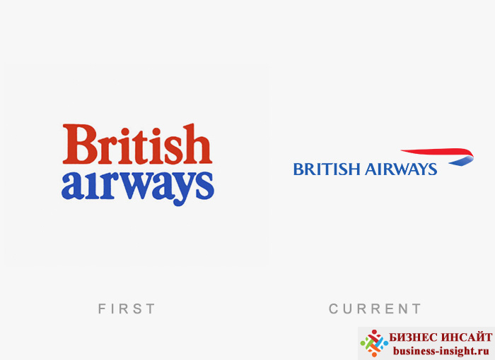 Логотип British Airways