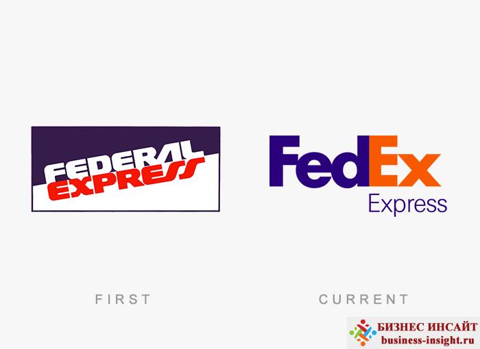 Логотип Fedex