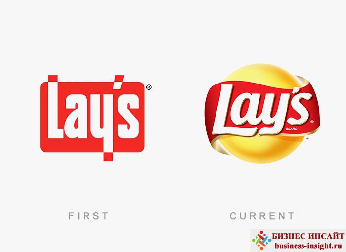 Логотип Lay's