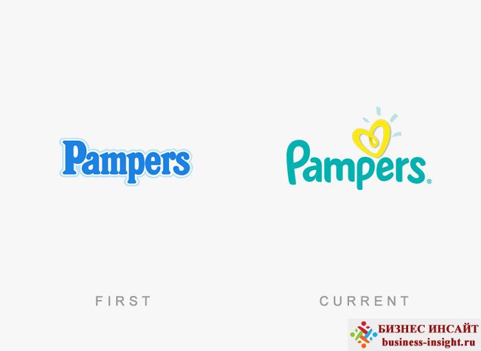 Логотип Pampers