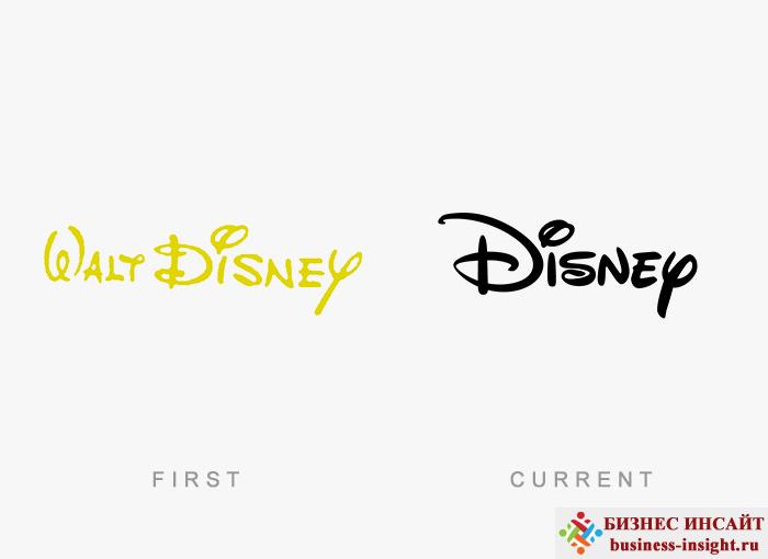 Логотип Walt Disney