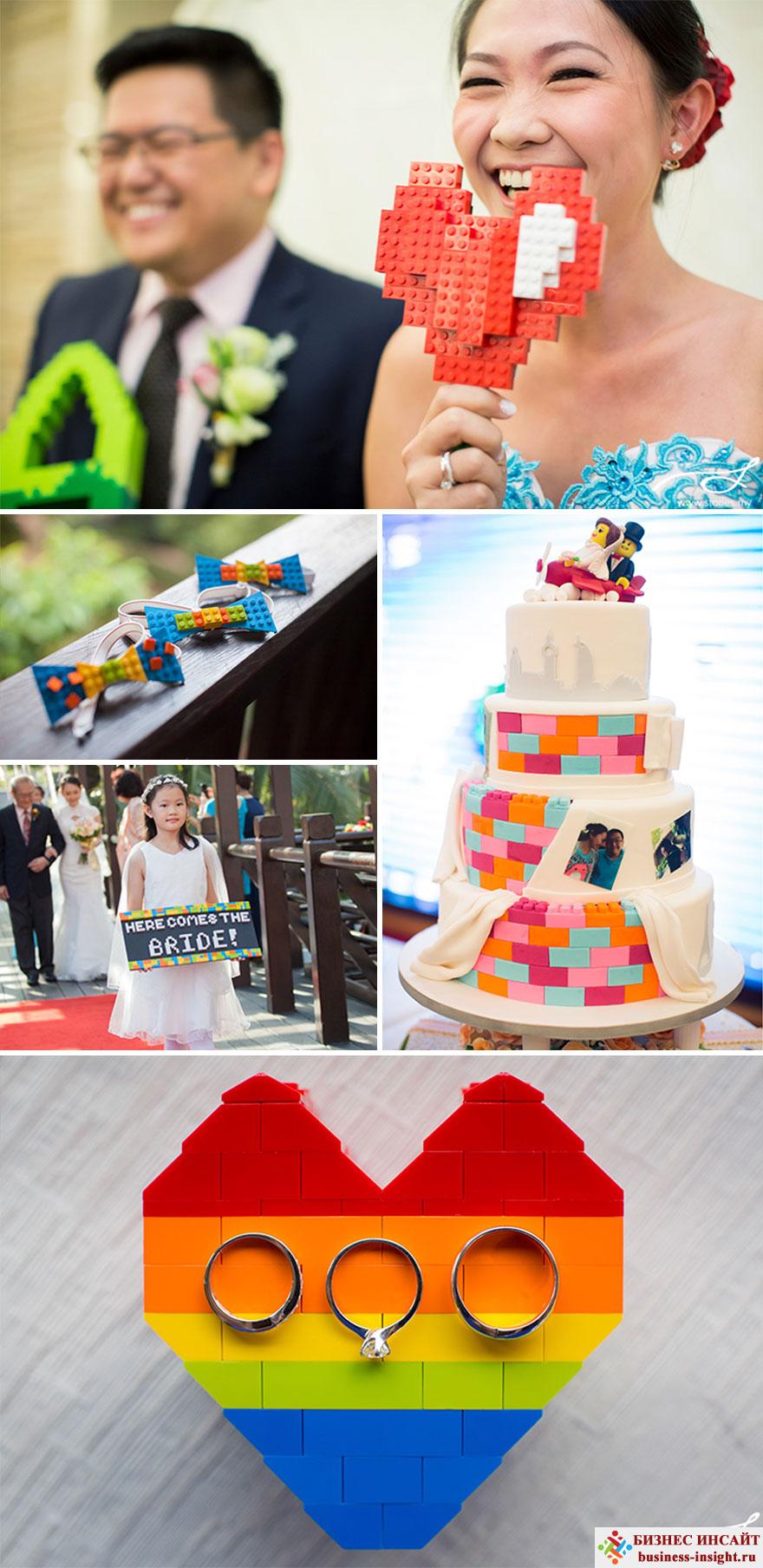 Свадьба в стиле Конструктор Лего