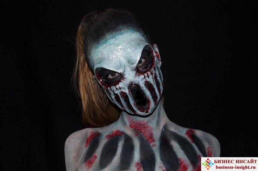 Создание яркого образа на Хэллоуин