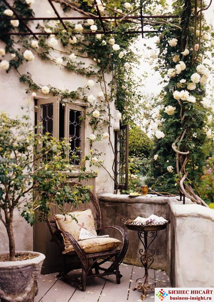 Идеи для отделки балкона