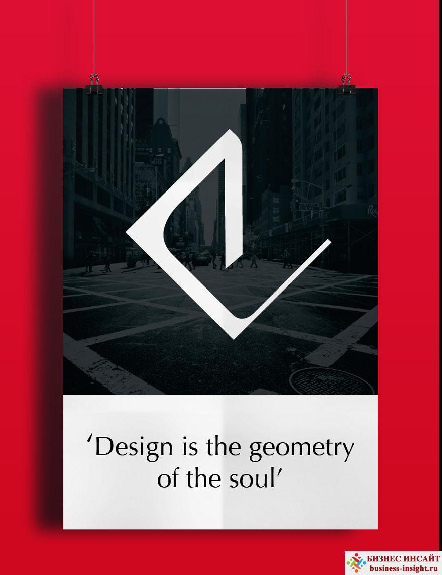 Пример проекта по созданию Персонального бренда. Постер на стену.