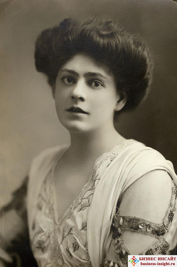 Фотографии в стиле 1900-х годов эпохи короля Эдуарда. Ethel Barrymore (Этель Бэрримор, 1879 - 1959)