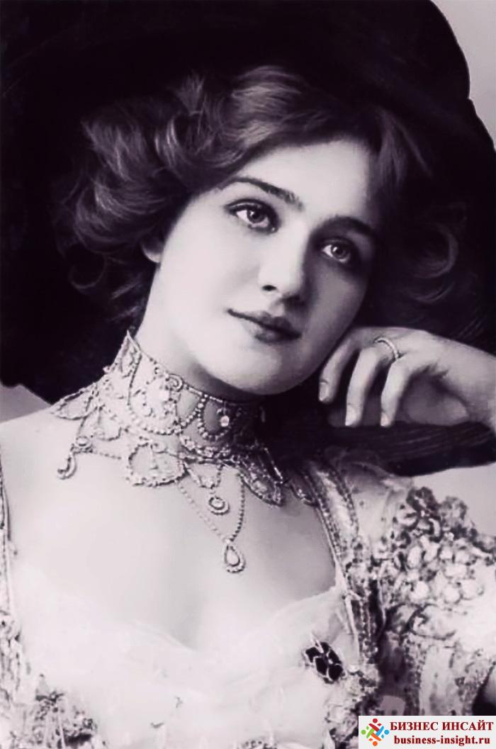 Фотографии в стиле 1900-х годов эпохи короля Эдуарда. Lily Elsie (Лили Элси, 1886 - 1962)