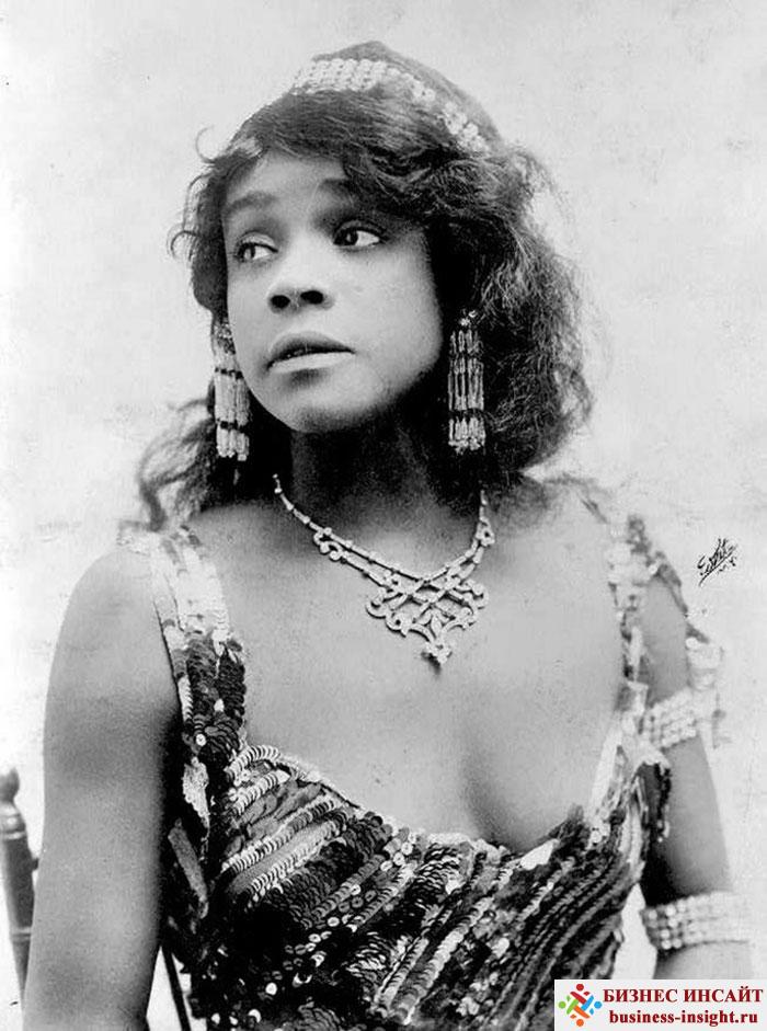 Фотографии в стиле 1900-х годов эпохи короля Эдуарда. Aida Overton Walker (Аида Овертон Уолкер, 1880 - 1914)
