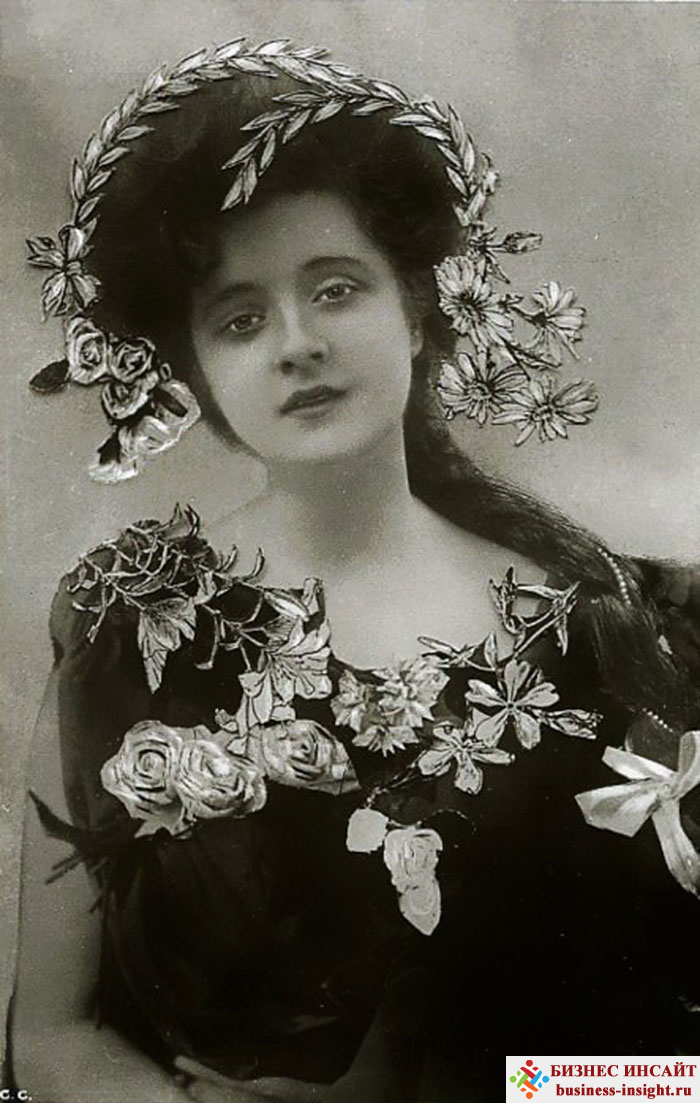 Фотографии в стиле 1900-х годов эпохи короля Эдуарда. Billie Burke (Билли Бурке, 1884 - 1970)