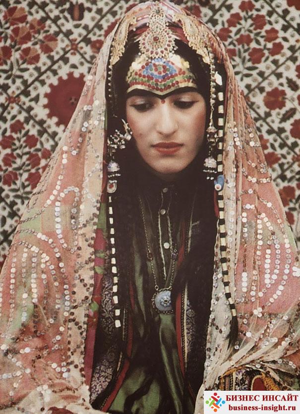 Афганская еврейская невеста