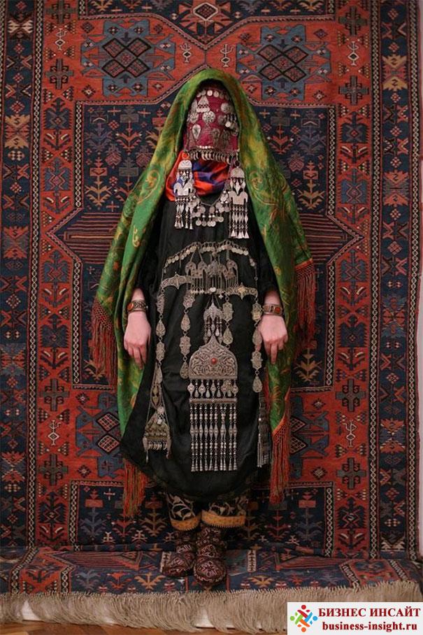 Авары. Невеста в традиционном костюме