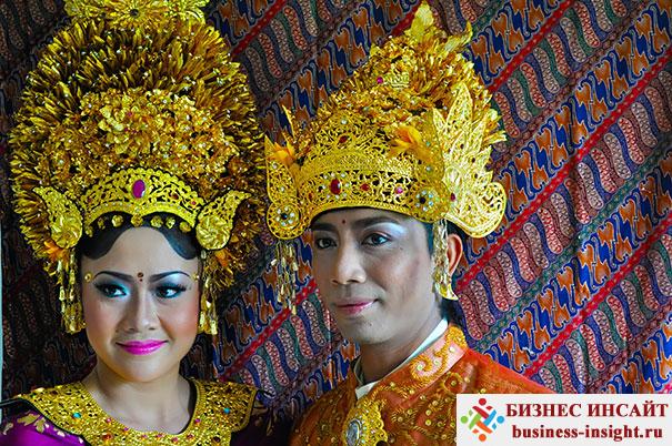 Балийская свадьба, Индонезия