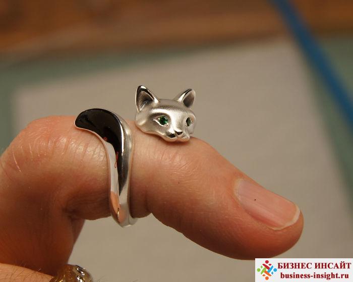 Кольцо Лесной кот