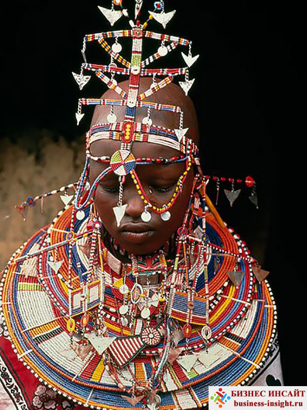 Масаи. Свадьба в Кении