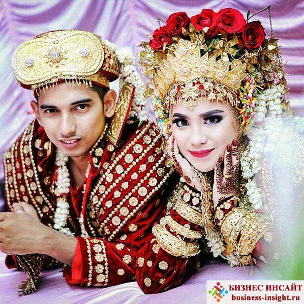 Палембанг. Свадьба в Индонезии