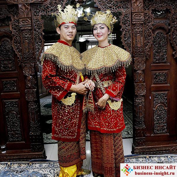 Свадьба в Джакарте, Индонезия