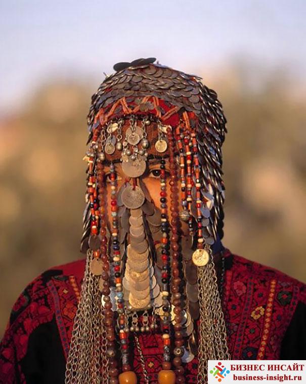 Свадебная фата Бедуинов в Израиле