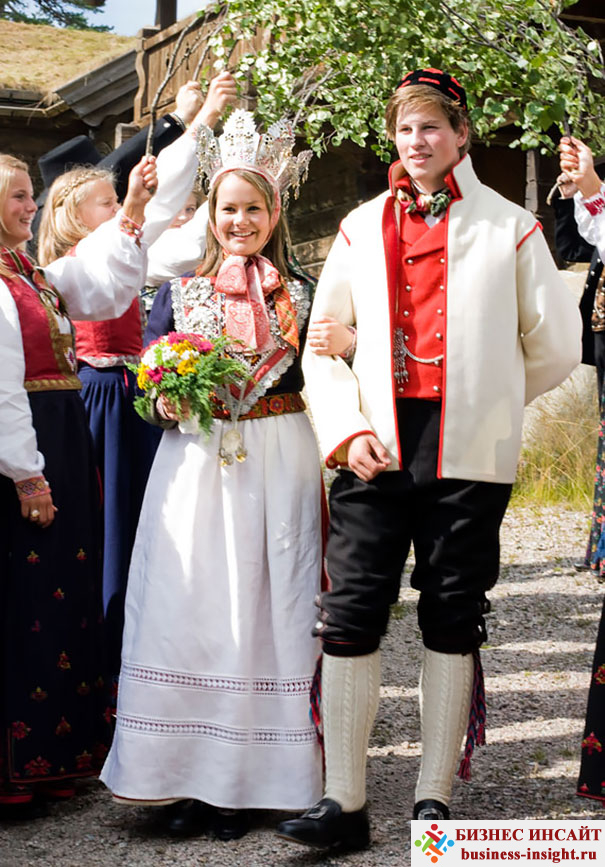 Свадебные костюмы в Норвегии