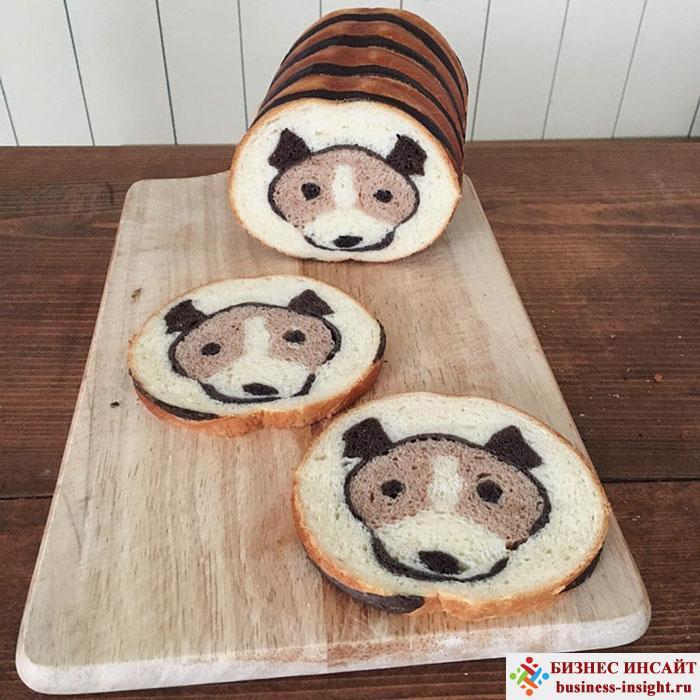 Удивительный хлеб с рисунками