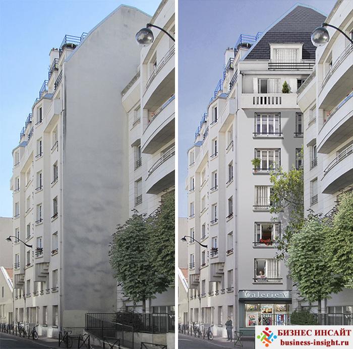 Роспись стен городских зданий