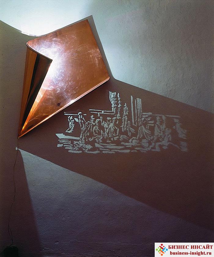 Дизайн при помощи света и тени