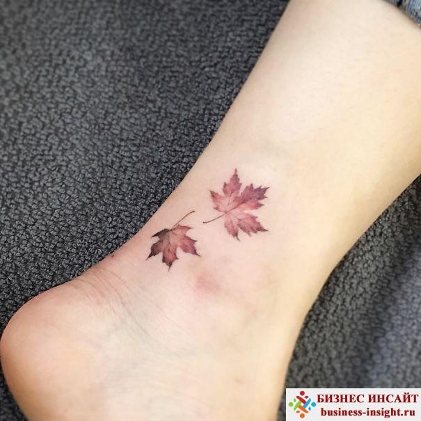 Идеи для маленькой татуировки на ноге