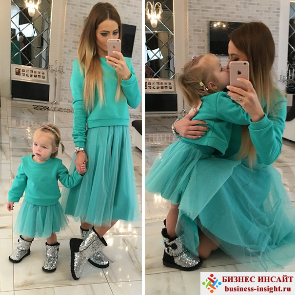 Фотосессия для мамы и дочки