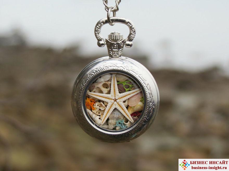 Сувениры и украшения с дарами моря