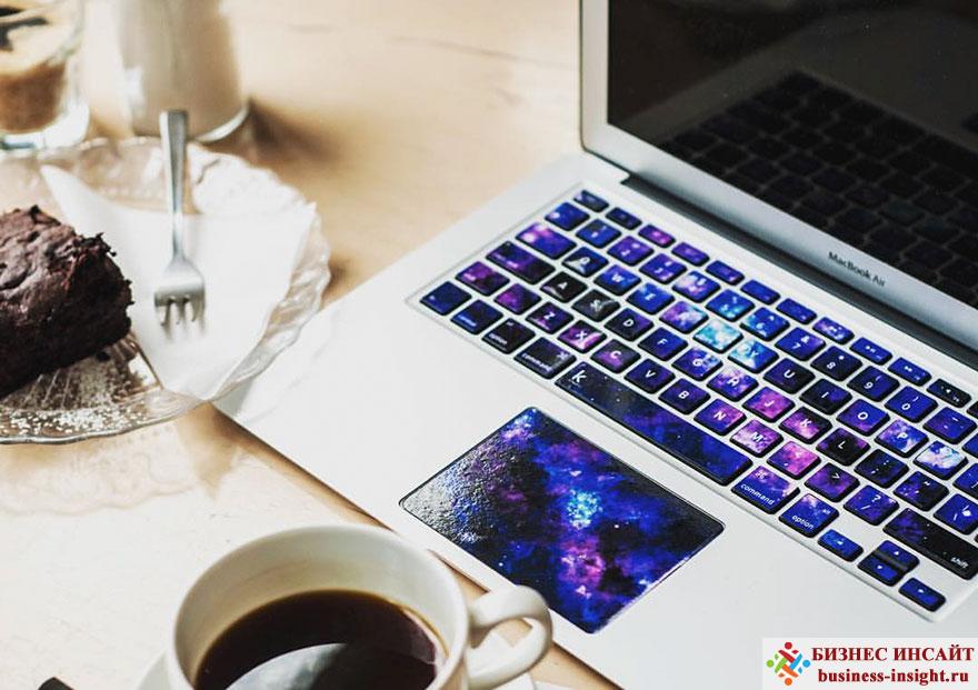 Наклейки на клавиатуру ноутбука