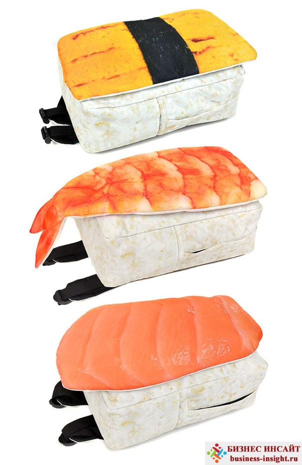Рюкзак, похожий на суши