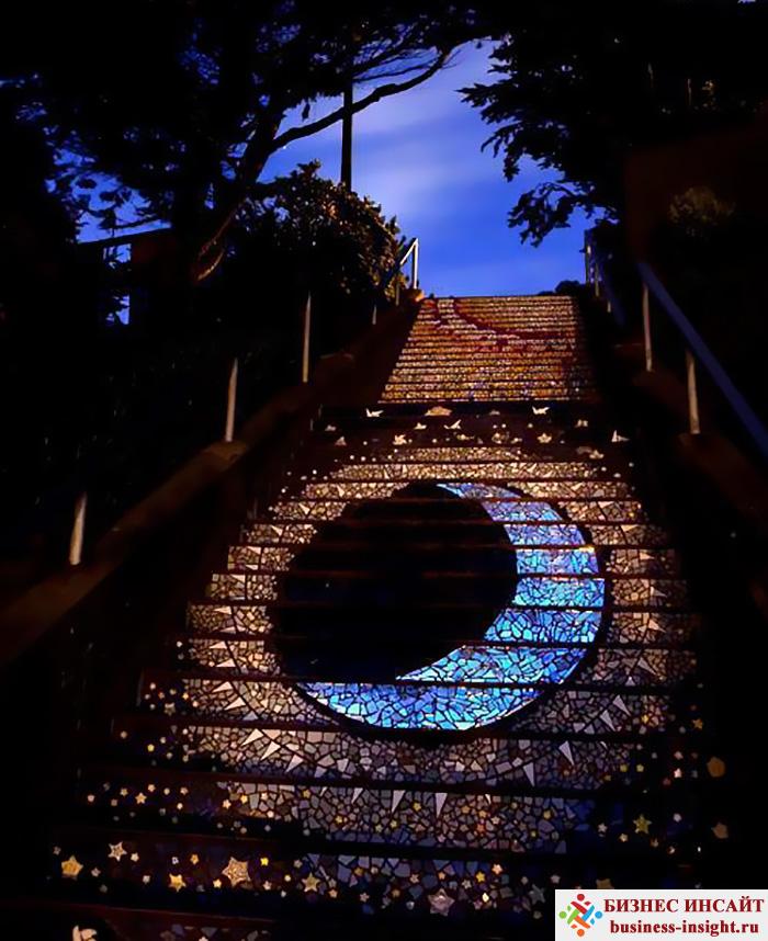 Лестница с подстветкой