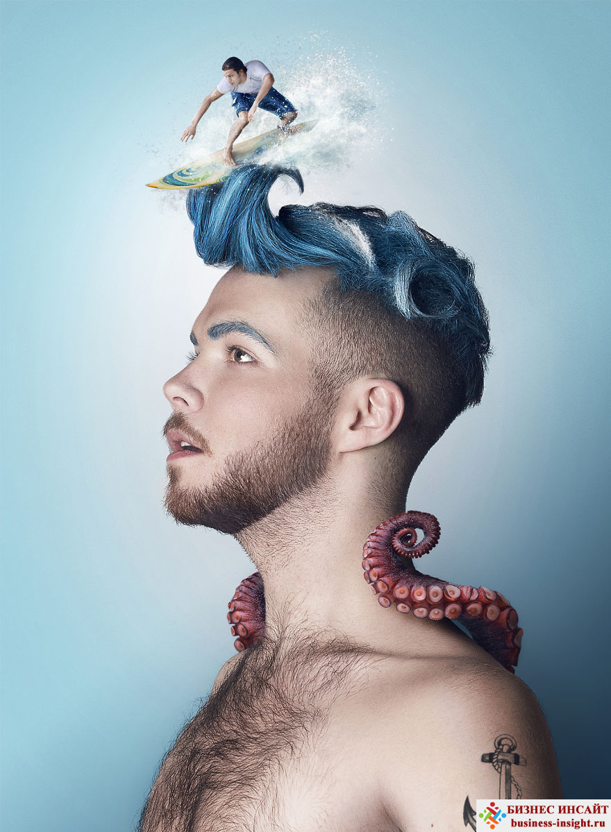 Сюрреалистические портреты людей