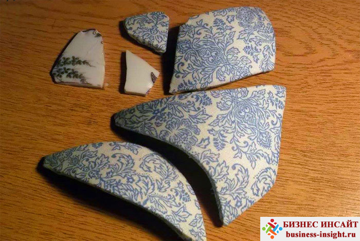Японская техника восстановление разбитой вазы