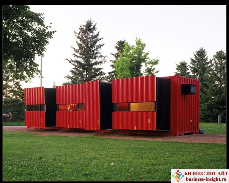 Дом из морского контейнера