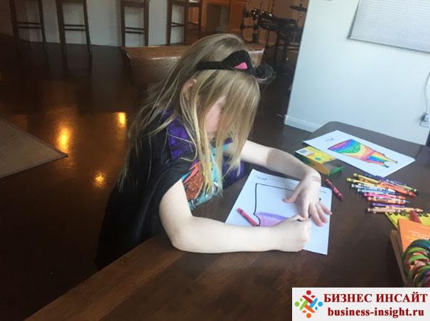 Пошив одежды по детскому рисунку