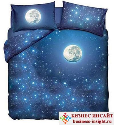Светящееся в темноте постельное белье