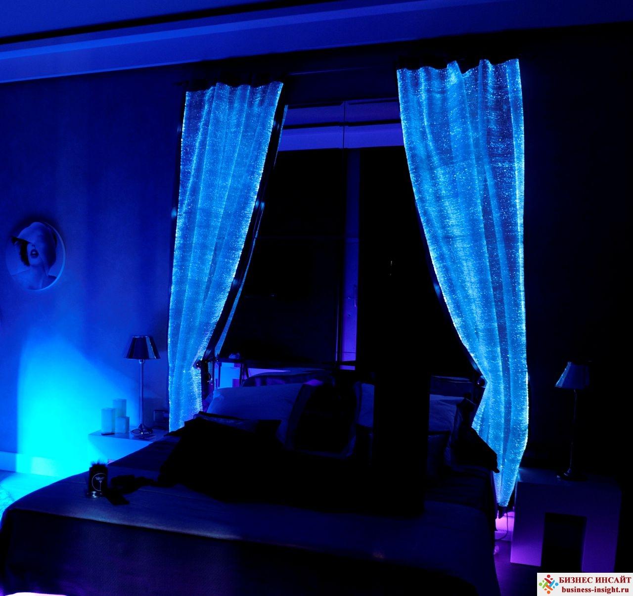 Светящиеся в темноте шторы