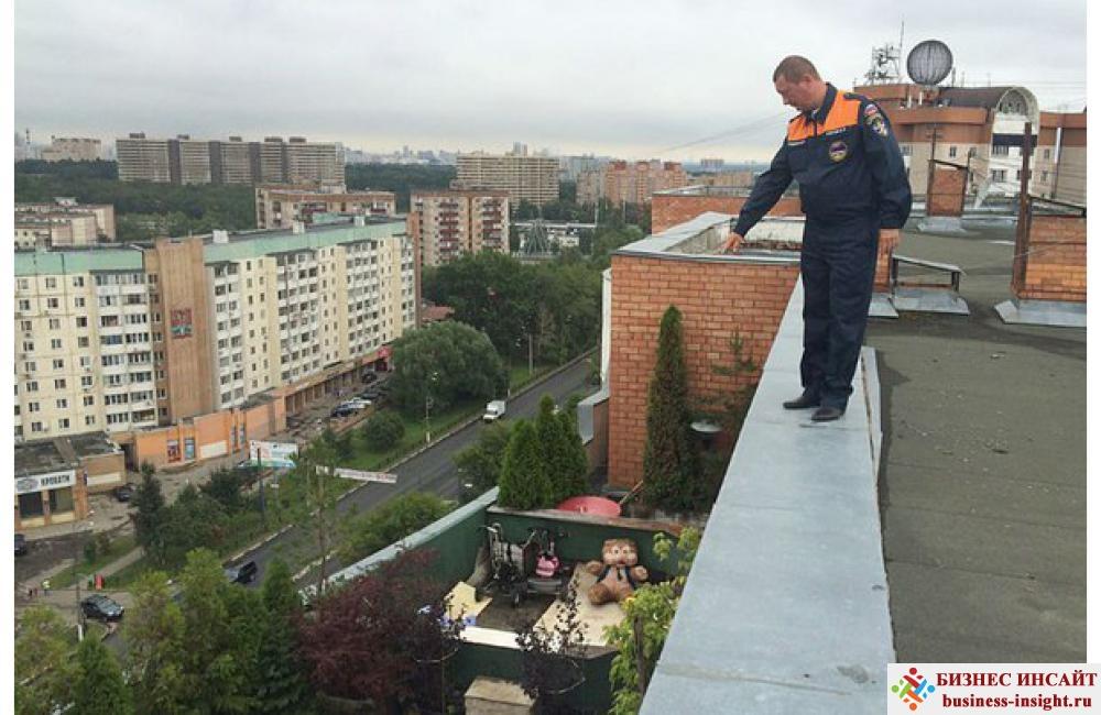 Загорать на крышах домов в городе