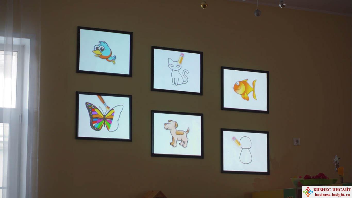 Проекционный дизайн. Детский сад.