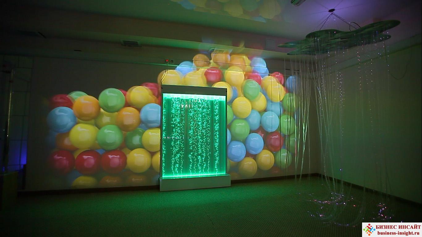 Проекционный дизайн. Сенсорная комната.