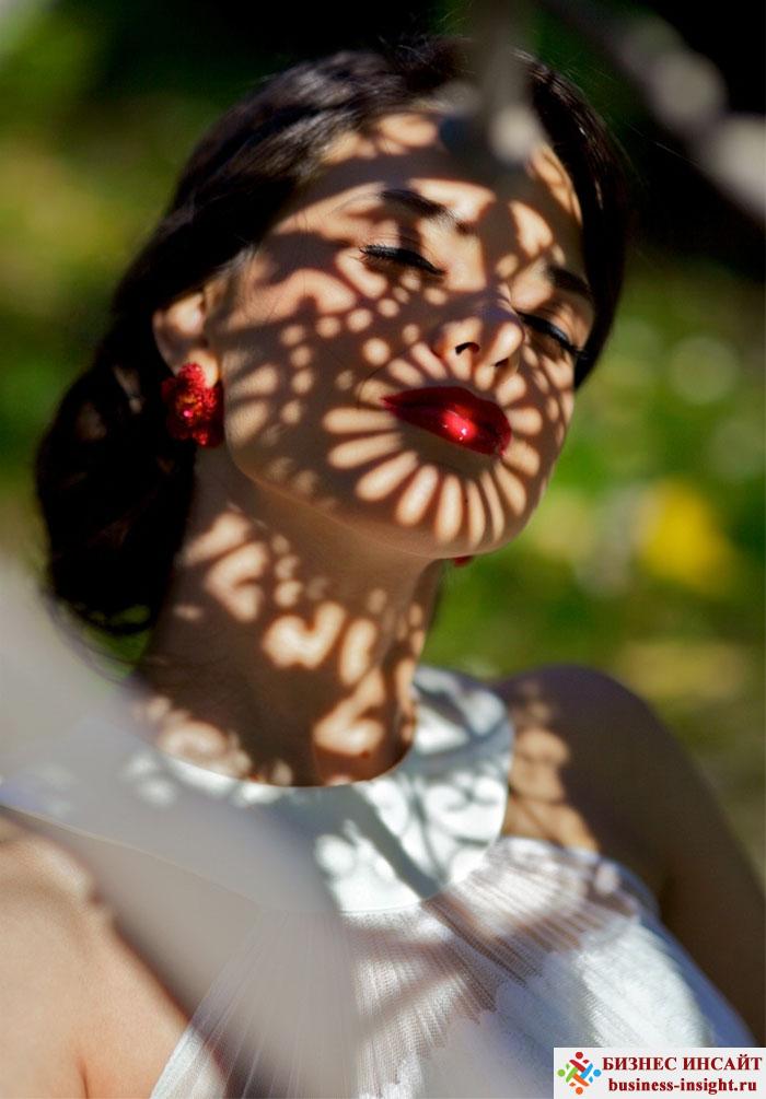 Фотографии с использованием игры света и тени