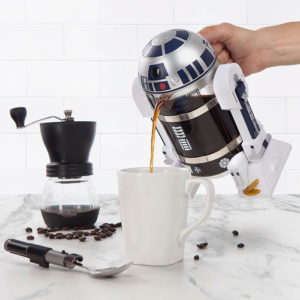Кофейный (чайный) френч-пресс в виде робота R2-D2